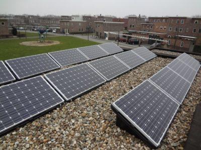zonnepanelen plat dak consolebakken