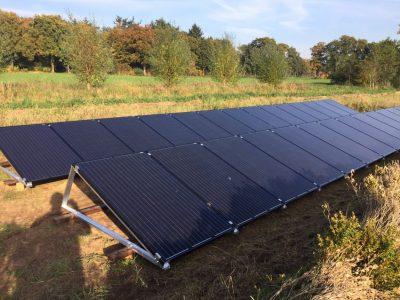 grond zonnepanelen