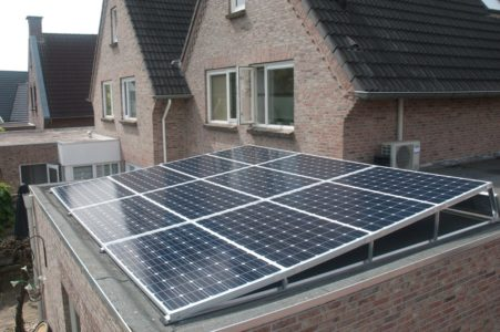 plat dak maatwerk zonnepanelen