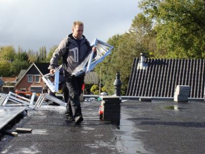 zonnepanelen aluminium profiel