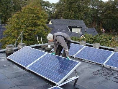 duurzaam met zonnepanelen