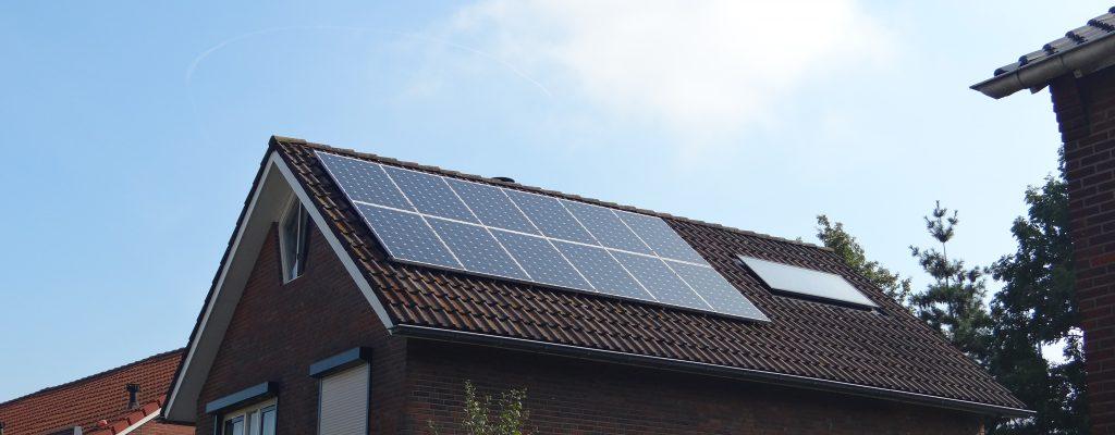opslag stroom zonnepanelen