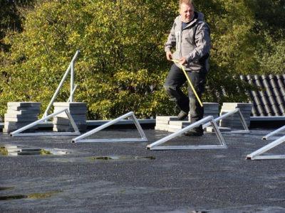 vakmanschap zonnepanelen monteren
