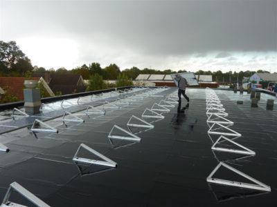 zonnepanelen monteren dak