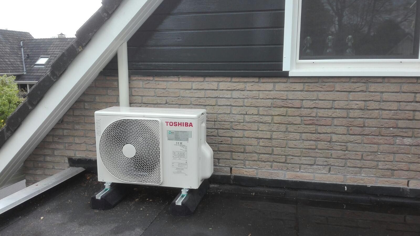 Afbeeldingsresultaat voor warmtepomp op dak