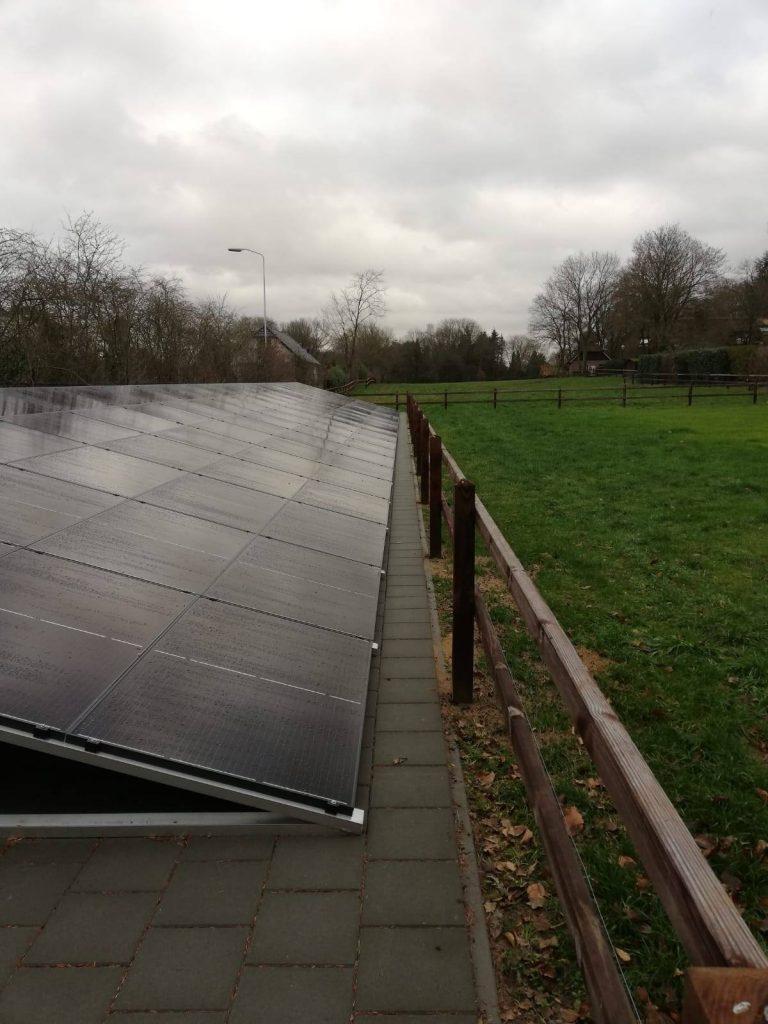 100 zonnepanelen inveld met warmtepomp in Voorthuizen