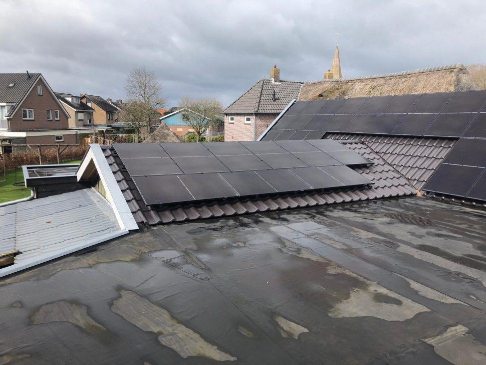 Hanwha Qcells zonnepanelen op SolarEdge omvormer