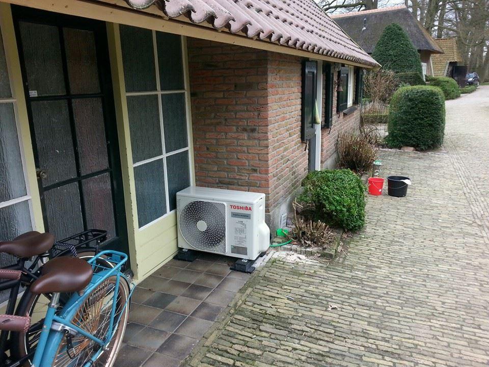 Warmtepomp en zonnepanelen in Hardenberg