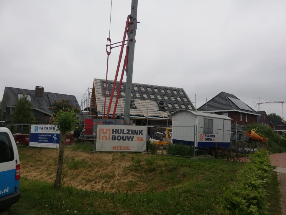Nieuwbouwwoning energieneutraal in Borne