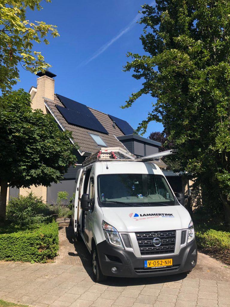 Warmtepomp, zonnepanelen en vloerverwarming in Vorden