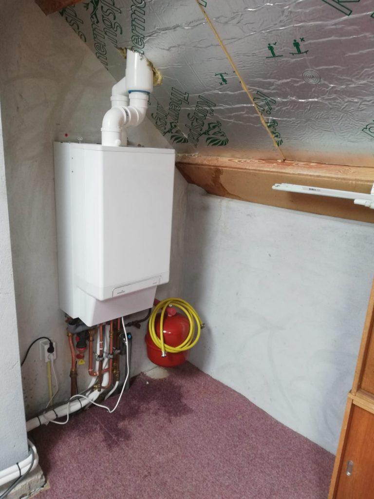Warmtepomp en indak zonnepanelen in Wierden