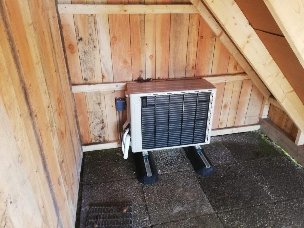 Verstopte warmtepomp in vakantiewoning Diepenheim