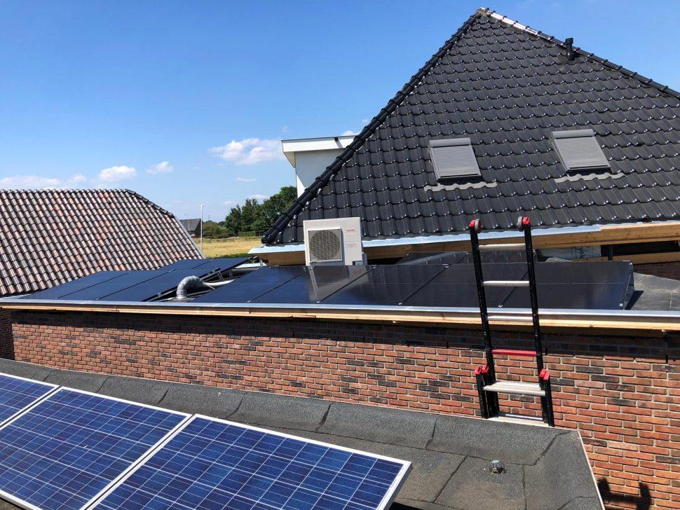 Nieuwbouw: warmtepomp, vloerverwarming en zonnepanelen te Ede