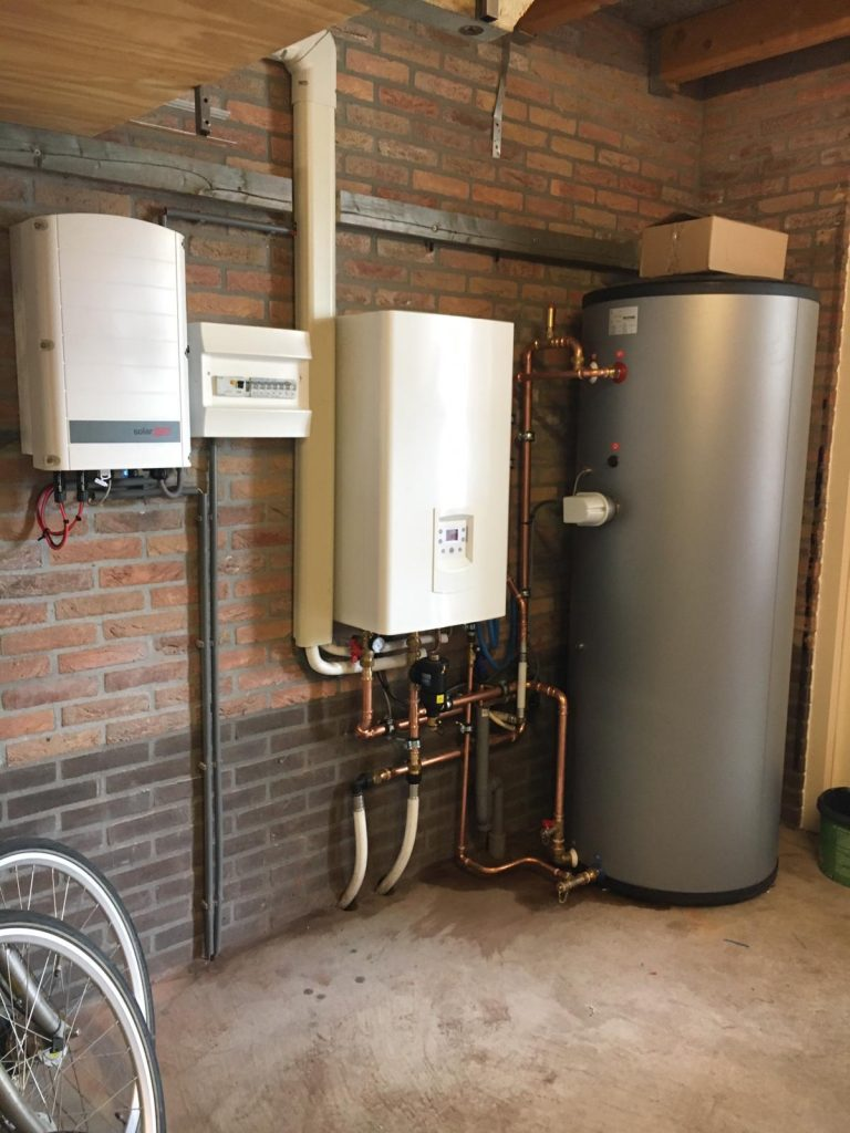 Warmtepomp, vloerverwarming en zonnepanelen