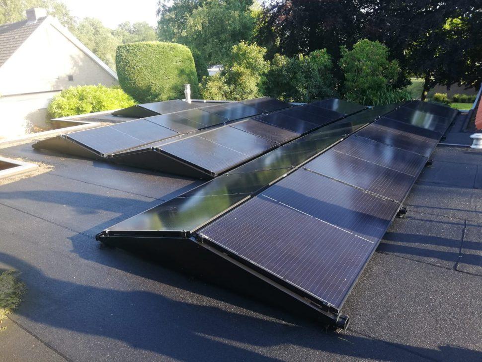 Zonnepanelen en warmtepomp in Lelystad