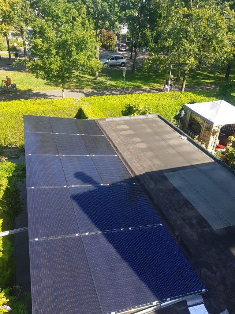 Zonnepanelen op maatwerkframe in Nijmegen