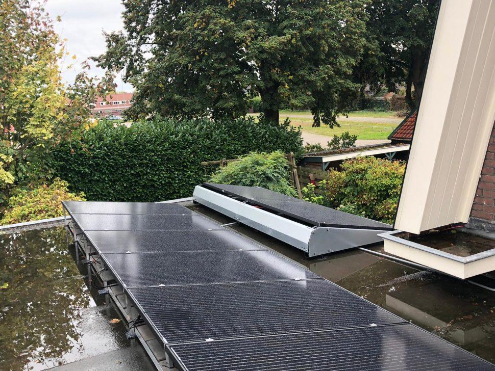 Jinko zonnepanelen op woning in Deventer