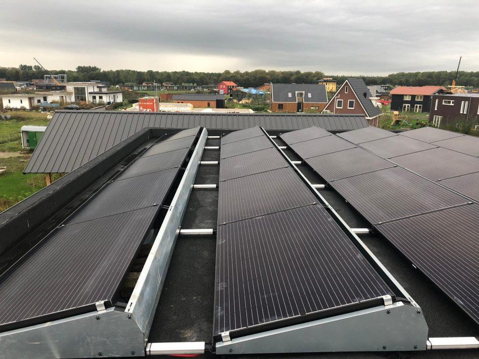 Warmtepomp en zonnepanelen in Almere