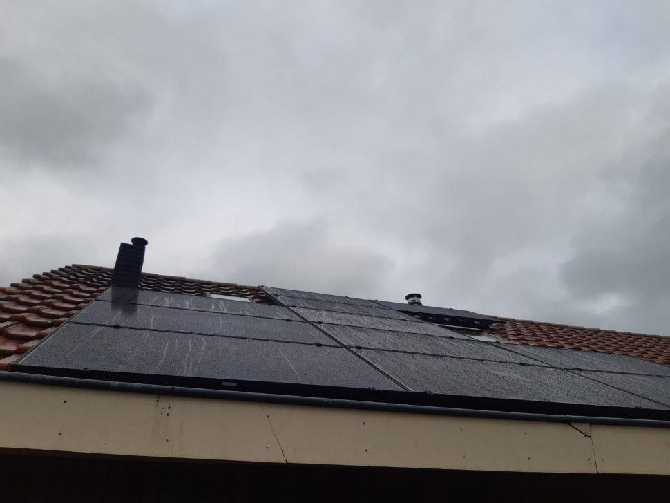 Zonnepanelen en warmtepomp in Almelo